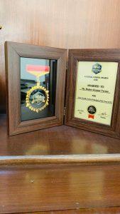 GAGAN PUBLIC SCHOOL RECIEVED NATIONAL EDUCATION AWARD FOR BEST FACULCTY IN THE REGION.